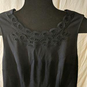 Talbots size 8 black dress
